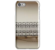 Balcony With Two Doors iPhone Case/Skin