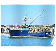 Crab Boat Poster