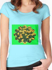 Fancy Tulips - Keukenhof Gardens Women's Fitted Scoop T-Shirt