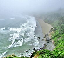 On A cliff by marilyn diaz