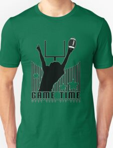 Game Time - Football (Green) T-Shirt