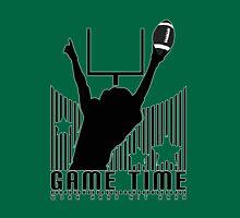 Game Time - Football (Green) T-Shirt