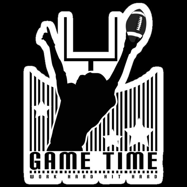 Game Time - Football (Grey) by Adamzworld