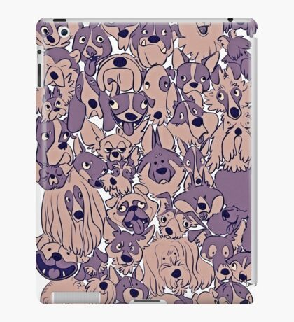 Silly Puppy Pile iPad Case/Skin