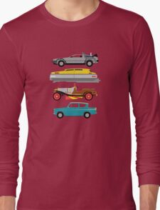 The Car's The Star: Flying Cars Long Sleeve T-Shirt