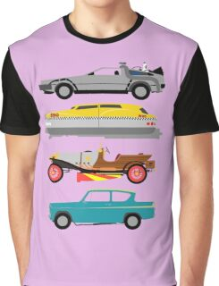 The Car's The Star: Flying Cars Graphic T-Shirt