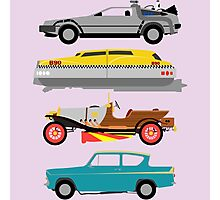 The Car's The Star: Flying Cars Photographic Print
