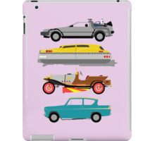 The Car's The Star: Flying Cars iPad Case/Skin