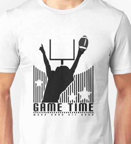 Game Time - Football (White) Unisex T-Shirt