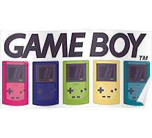GAMEBOY COLOR Poster