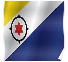 Bonaire flag Poster