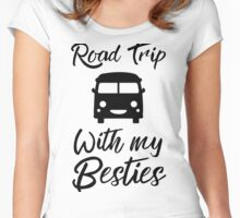 Road Trip With my Besties Women's Fitted Scoop T-Shirt