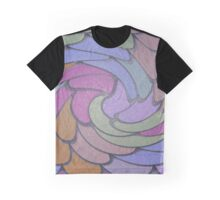Overlapping Circles Graphic T-Shirt