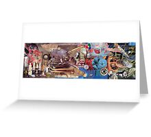 Another Incredible Collage (exhibition work) Greeting Card