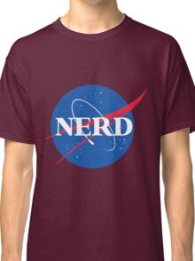 NERD - Nasa Logo Classic T-Shirt