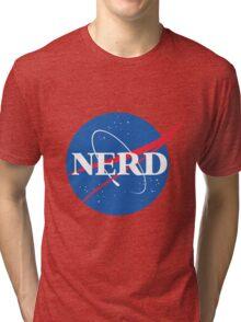 NERD - Nasa Logo Tri-blend T-Shirt