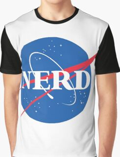 NERD - Nasa Logo Graphic T-Shirt