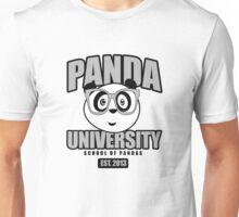 Panda University - Grey Unisex T-Shirt