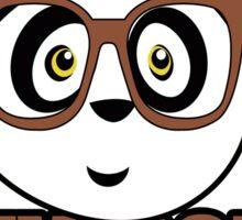 Panda University - Brown 2 Sticker