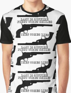 Smiles, lies, & gunfire Graphic T-Shirt