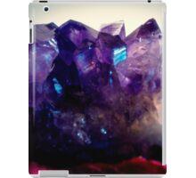 Amethyst Cluster iPad Case/Skin