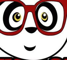 Panda University - Red 2 Sticker
