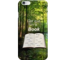 Get Lost in Reading iPhone Case/Skin