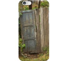 Wooden Gate in a Fence iPhone Case/Skin