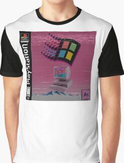 Vaporwave Graphic T-Shirt