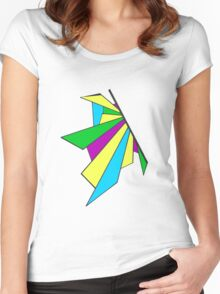 Bright Shatterwing Women's Fitted Scoop T-Shirt