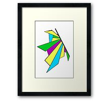 Bright Shatterwing Framed Print