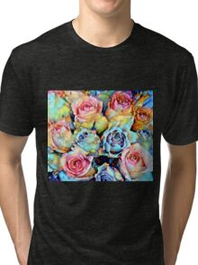 For Love of Roses Tri-blend T-Shirt