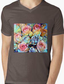 For Love of Roses Mens V-Neck T-Shirt