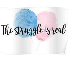 Cotton Candy Struggle Poster