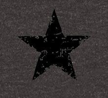 Black Star - faded Unisex T-Shirt