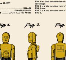 C3P0 Patent - Colour Sticker