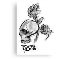 My chem skully Canvas Print