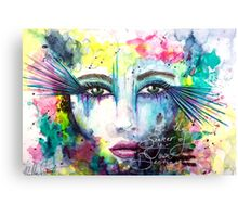 Be the Seeker of Your Own Destiny Canvas Print