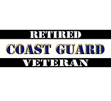Retired Coast Guard Veteran Photographic Print
