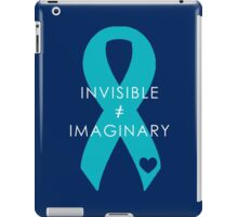 Invisible Not Imaginary - Turquoise iPad Case/Skin