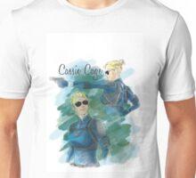 cassie cage -white bkg- Unisex T-Shirt