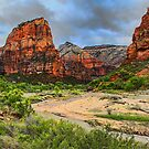USA. Utah. Zion National Park. Valley. by vadim19