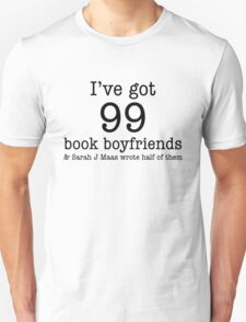 99 Book Boyfriends Unisex T-Shirt