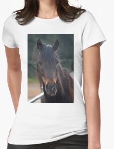 Harry pony Womens Fitted T-Shirt