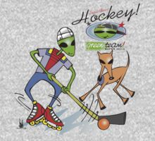 alien hockey One Piece - Short Sleeve