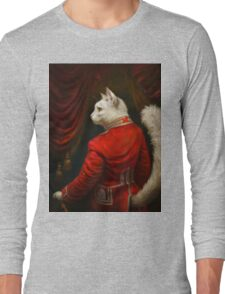 The Hermitage Court Chamber Herald Cat Edited version Long Sleeve T-Shirt