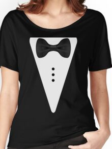 Tuxedo T-Shirt - Tux Tee Women's Relaxed Fit T-Shirt