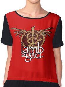lamb of god Chiffon Top