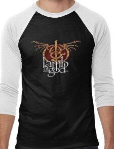 lamb of god Men's Baseball ¾ T-Shirt