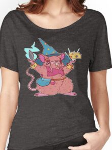 Ratling/Hamster Wizard Women's Relaxed Fit T-Shirt